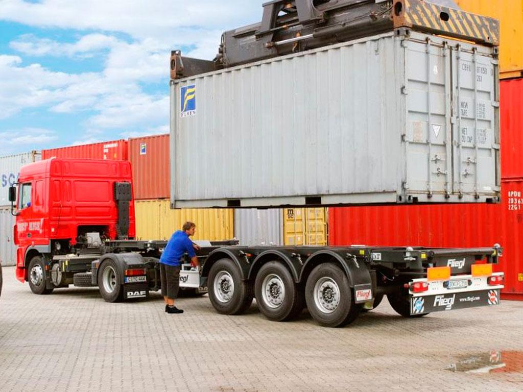 Перевозка контейнеров автотранспортом - фото контейнера